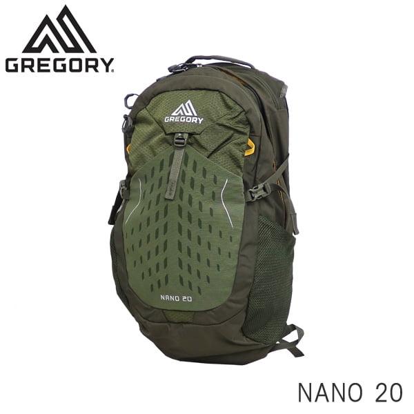 GREGORY グレゴリー バックパック NANO ナノ 20 20L フェンネルグリーン 1114991333