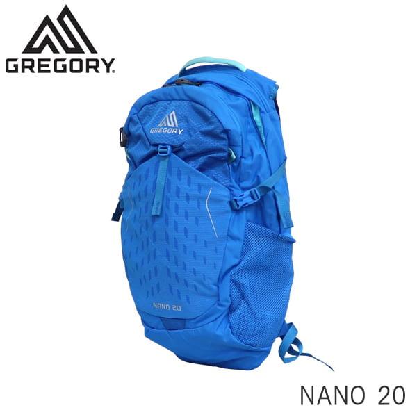 GREGORY グレゴリー バックパック NANO ナノ 20 20L ミラージュブルー 1114994683