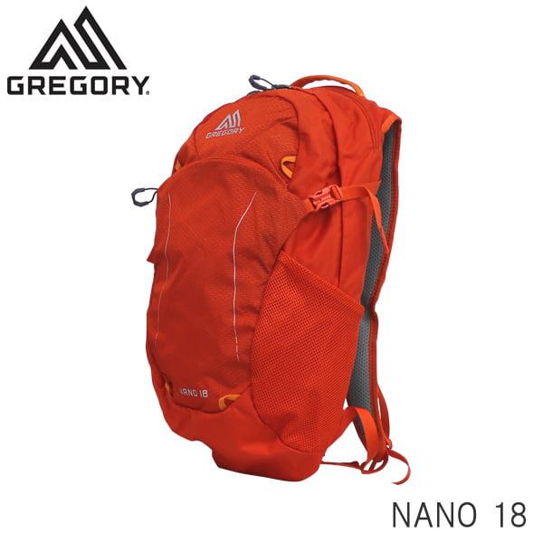 GREGORY グレゴリー バックパック NANO ナノ 18 18L バーニッシュドオレンジ 1114994683
