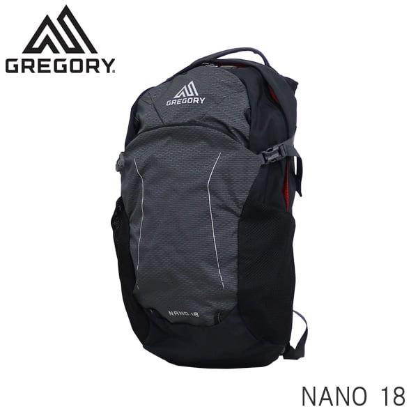 GREGORY グレゴリー バックパック NANO ナノ 18 18L エクリプスブラック 1114987406