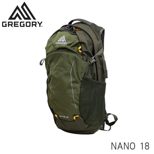 Gregory グレゴリー バックパック NANO ナノ 18 18L フェンネルグリーン 1114981333