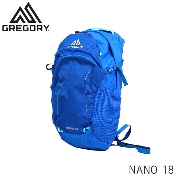 GREGORY グレゴリー バックパック NANO ナノ 18 18L ミラージュブルー 1114984683