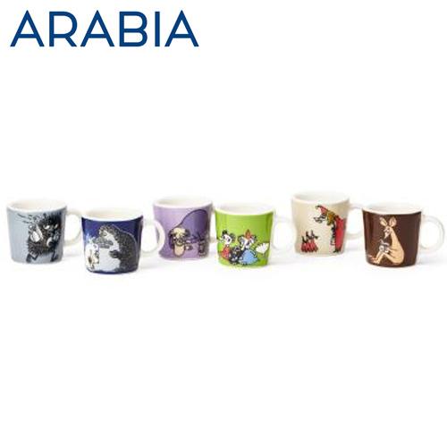 ARABIA アラビア Moomin ムーミン ミニマグ オーナメント クラシック2 6個セット classics2