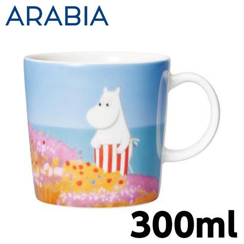 ARABIA アラビア Moomin ムーミン バレー マグ ムーミンママの壁画 300ml Moominmamma's mural マグカップ