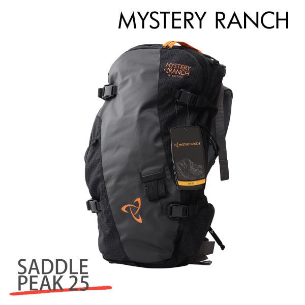 MYSTERY RANCH ミステリーランチ SADDLE PEAK 25 MEN'S サドルピーク メンズ S/M 25L BLACK ブラック バックパック