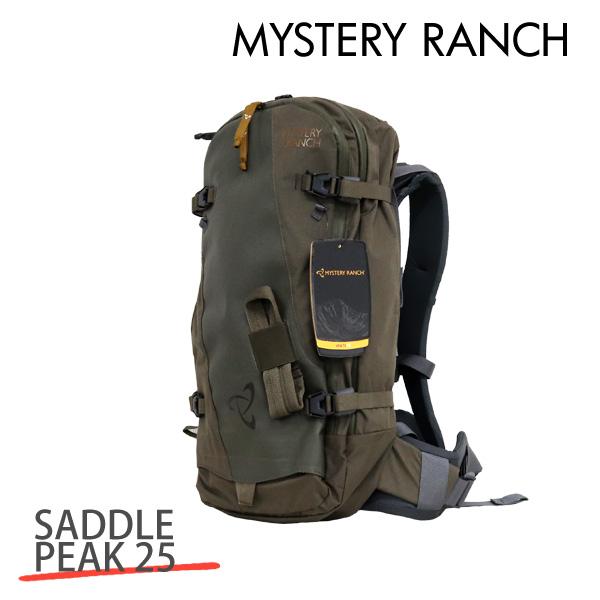 MYSTERY RANCH ミステリーランチ SADDLE PEAK 25 MEN'S サドルピーク メンズ S/M 25L WOOD ウッド バックパック