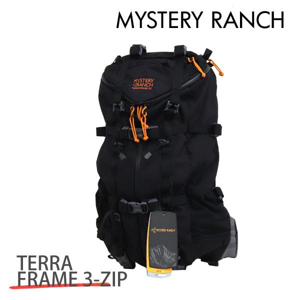 MYSTERY RANCH ミステリーランチ TERRAFRAME 3-ZIP 50 テラフレーム 3-ジップス 50 M 50L BLACK ブラック バックパック