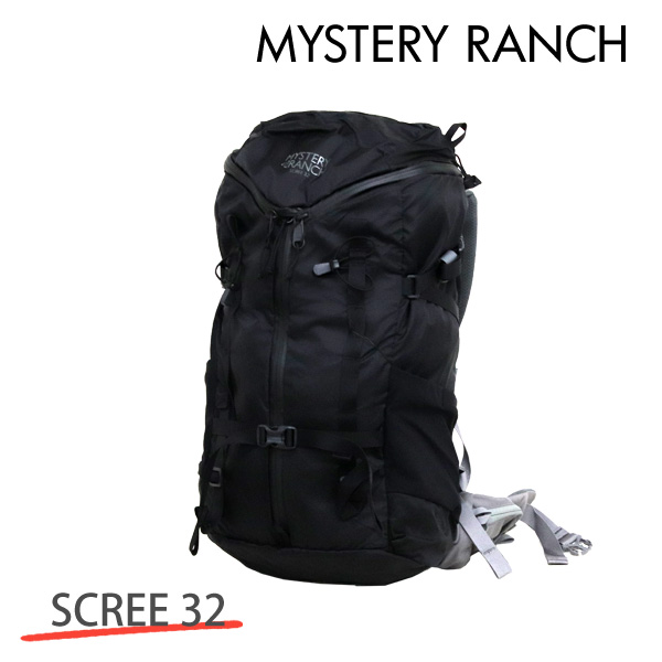MYSTERY RANCH ミステリーランチ SCREE 32 MEN'S スクリー メンズ S/M 32L BLACK ブラック バックパック デイパック