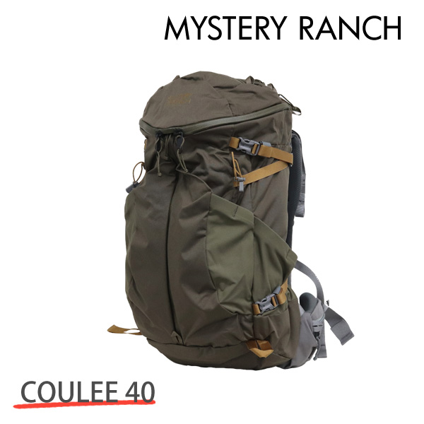 MYSTERY RANCH ミステリーランチ COULEE 40 MEN'S クーリー メンズ S/M 40L WOOD ウッド バックパック デイパック