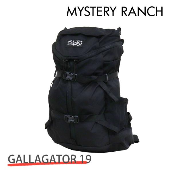MYSTERY RANCH ミステリーランチ GALLAGATOR 19 ギャラゲーター 19L BLACK ブラック バックパック デイパック