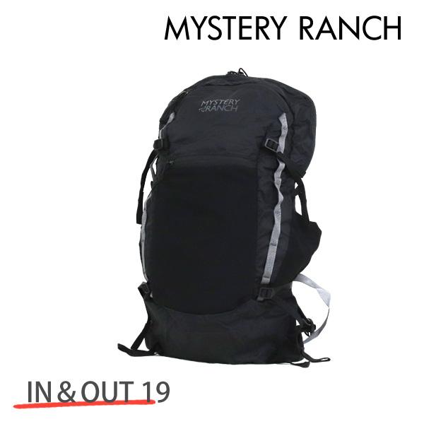 MYSTERY RANCH ミステリーランチ IN&OUT 19 イン&アウト 19L BLACK ブラック バックパック デイパック