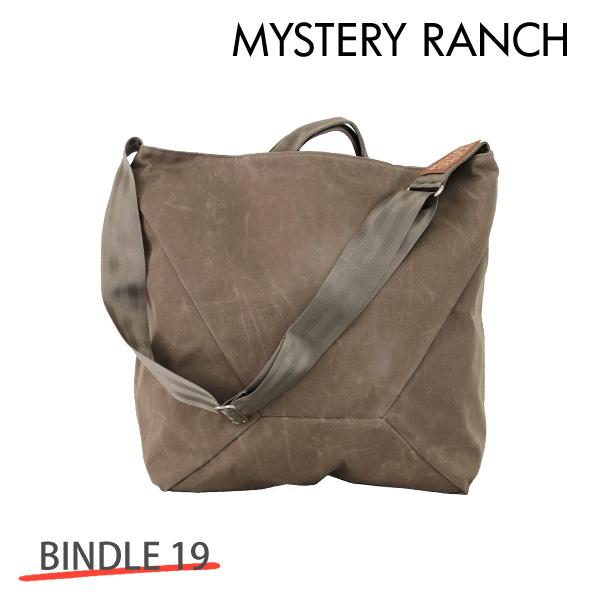 MYSTERY RANCH ミステリーランチ BINDLE 19 ビンドル 19L WOOD WAXED ワックスウッド トートバック ショルダーバック