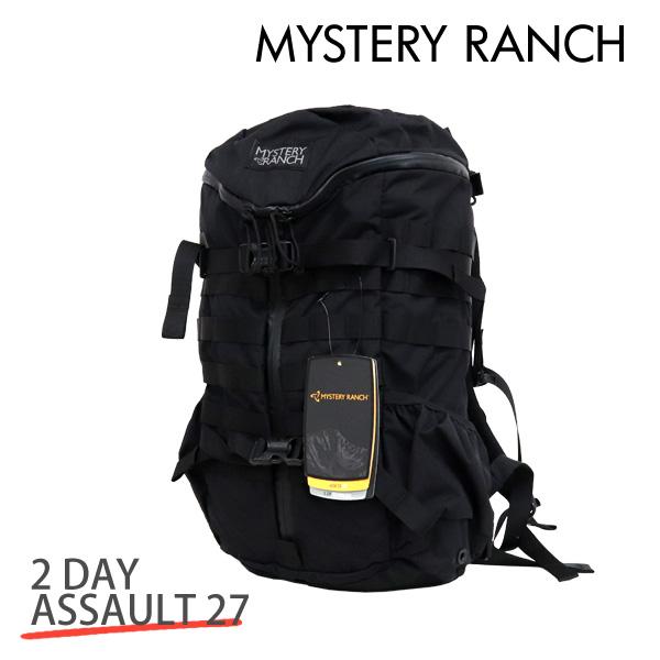 MYSTERY RANCH ミステリーランチ 2 DAY ASSAULT 27 2デイアサルト 27L BLACK ブラック バックパック デイパック