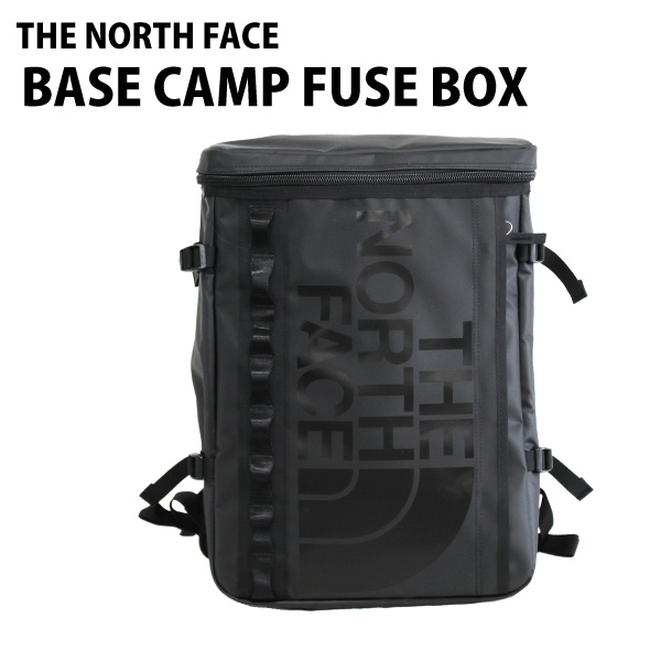 THE NORTH FACE バックパック BASE CAMP FUSE BOX ベースキャンプ ヒューズボックス 30L TNFブラック