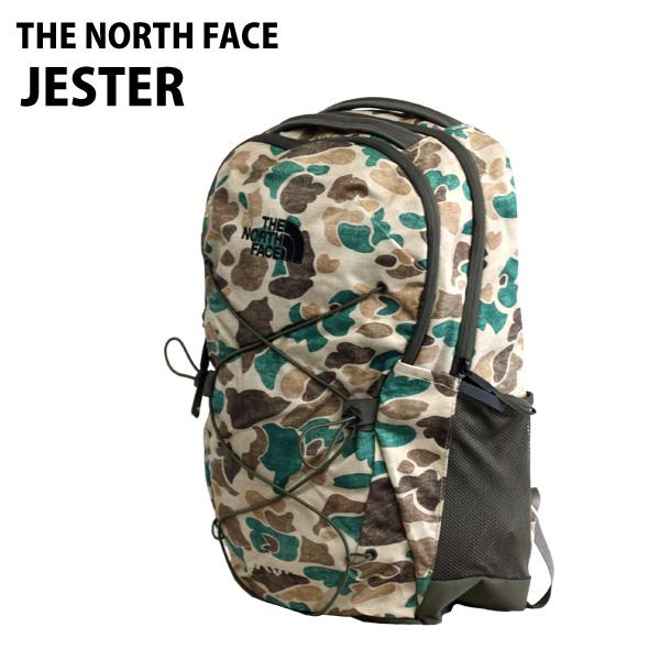 THE NORTH FACE バックパック JESTER ジェスター 29L ホーソンカーキダックカモ