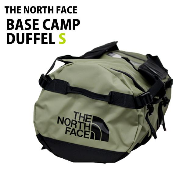 THE NORTH FACE ダッフルバッグ BASE CAMP DUFFEL S ベースキャンプ ダッフル S 50L バーントオリーブグリーン×TNFブラック バックパック ボストンバッグ