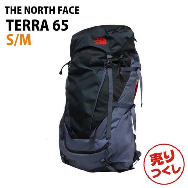 THE NORTH FACE バックパック TERRA 65 テラ65 S/M 65L グリセイルグレー