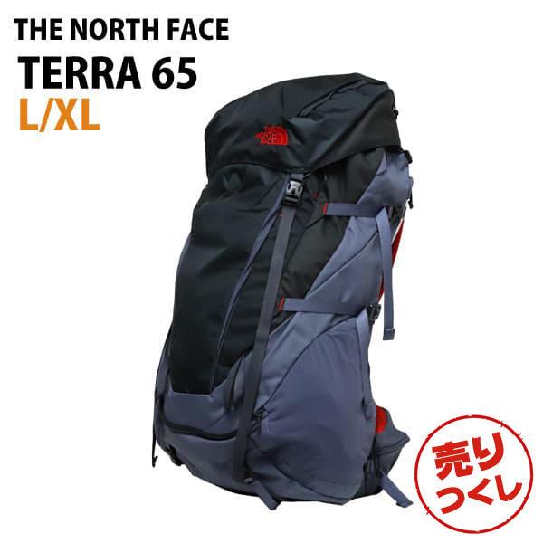 THE NORTH FACE バックパック TERRA 65 テラ65 L/XL 65L グリセイルグレー