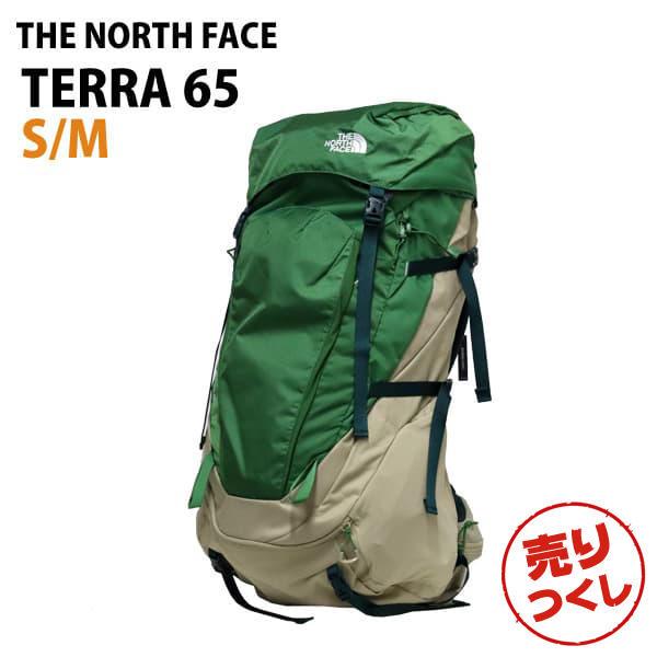 THE NORTH FACE バックパック TERRA 65 テラ65 S/M 65L ベージュ/サリバングリーン