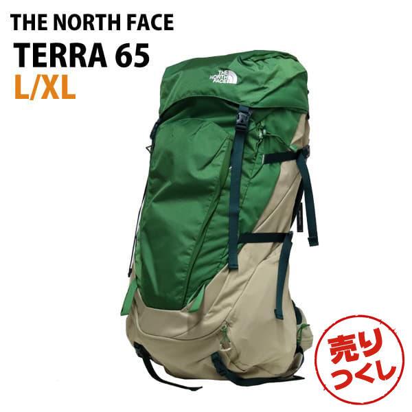 THE NORTH FACE バックパック TERRA 65 テラ65 L/XL 65L ベージュ/サリバングリーン