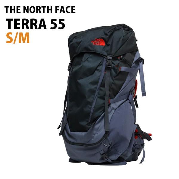 THE NORTH FACE バックパック M TERRA 55 テラ55 S/M 55L グリセイルグレー