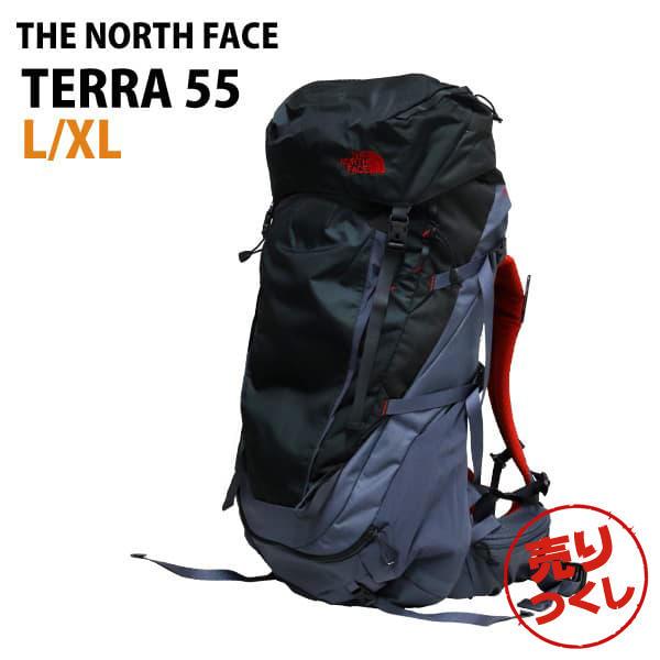 THE NORTH FACE バックパック M TERRA 55 テラ55 L/XL 55L グリセイルグレー