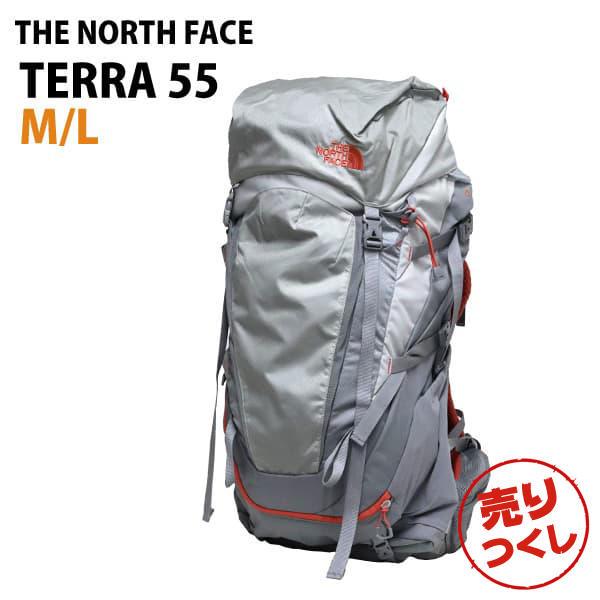 THE NORTH FACE バックパック W TERRA 55 テラ55 レディース M/L 55L ハイライズグレー
