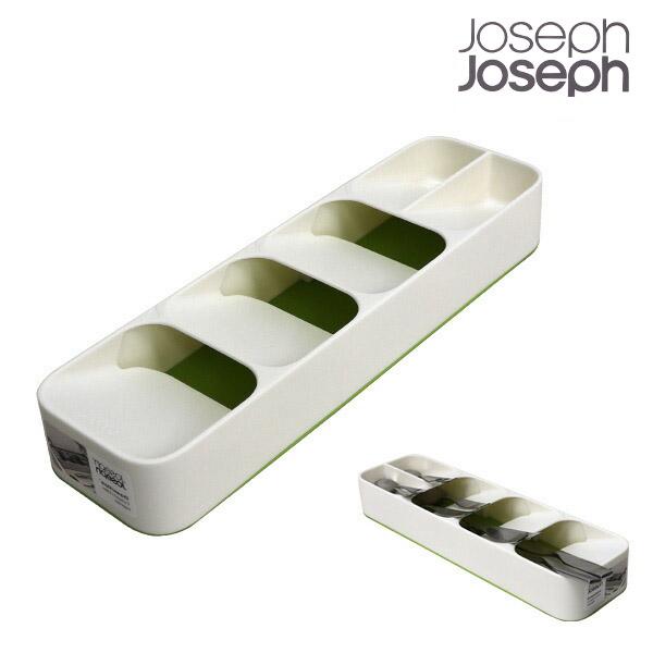 ジョセフジョセフ ドロワーオーガナイザー コンパクト ホワイト/グリーン 85141
