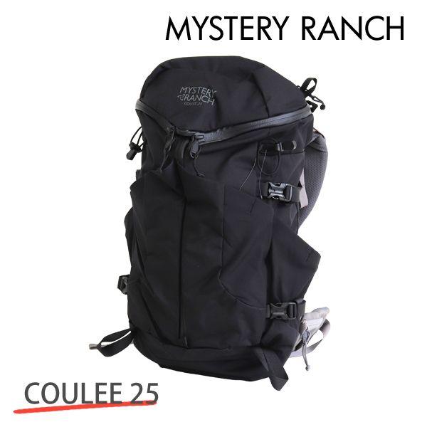 MYSTERY RANCH ミステリーランチ COULEE 25 MEN'S クーリー メンズ S/M 25L BLACK ブラック バックパック デイパック