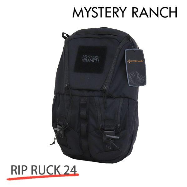 MYSTERY RANCH ミステリーランチ RIP RUCK 24 リップラック 24L BLACK ブラック バックパック デイパック