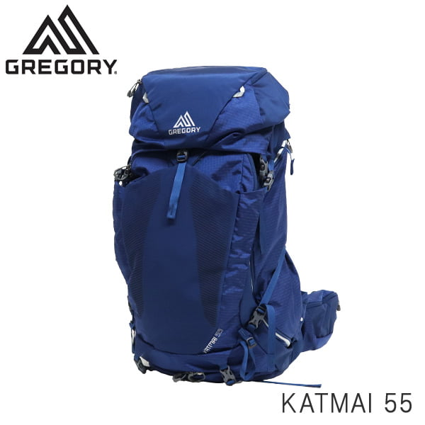 GREGORY グレゴリー バックパック KATMAI カトマイ 55 55L M/L エンパイアブルー 1372377411