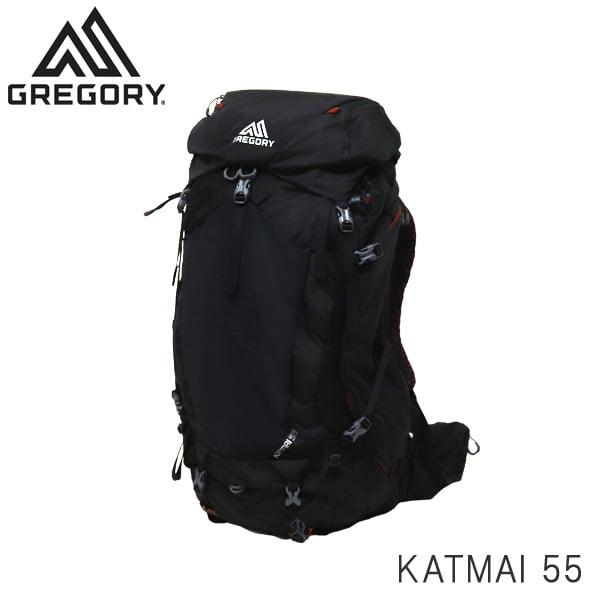 GREGORY グレゴリー バックパック KATMAI カトマイ 55 55L M/L ボルケニックブラック 1372370662