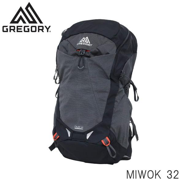 GREGORY グレゴリー バックパック MIWOK ミウォック 32 32L フレームブラック 1268597409