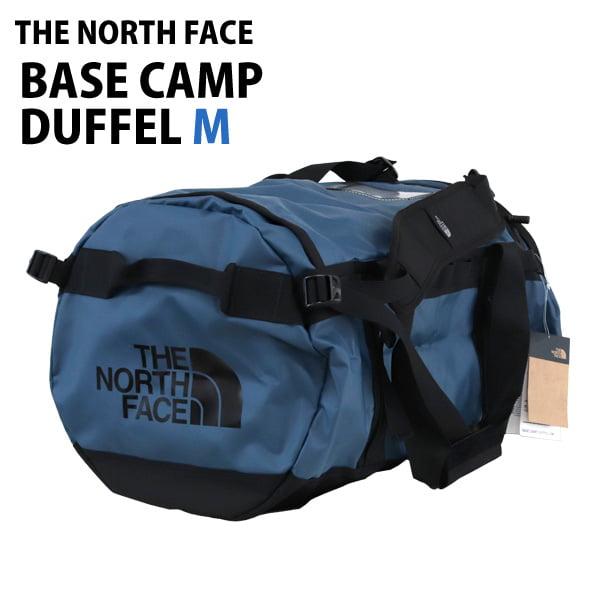THE NORTH FACE バックパック BASE CAMP DUFFEL M ベースキャンプダッフル 71L モントレーブルー×TNFブラック