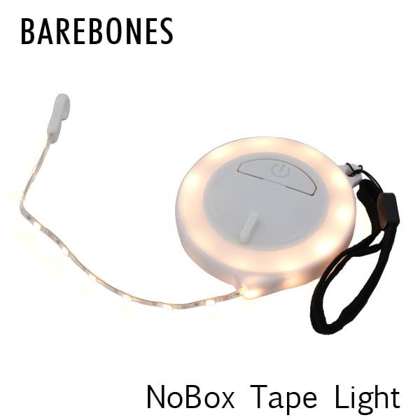 Barebones Living ベアボーンズ リビング NoBox Tape Light ノーボックス テープライト LED White ホワイト