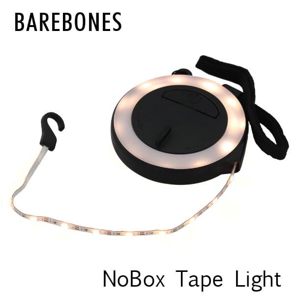 Barebones Living ベアボーンズ リビング NoBox Tape Light ノーボックス テープライト LED Black ブラック