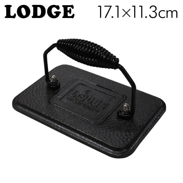 LODGE ロッジ ロジック グリルプレス 6.75×4.5インチ Cast Iron Grill Press LGP3