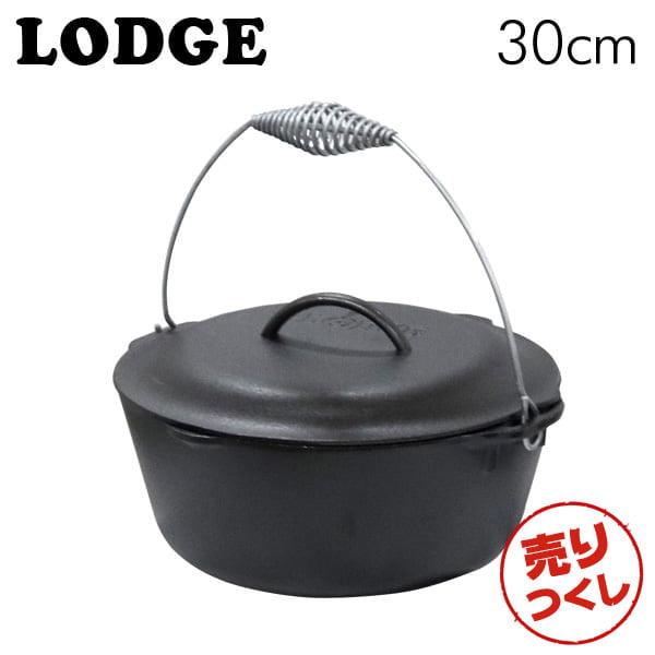 LODGE ロッジ ロジック キッチンオーヴン 12インチ Cast Iron Dutch Oven With Bail Handle L10DO3