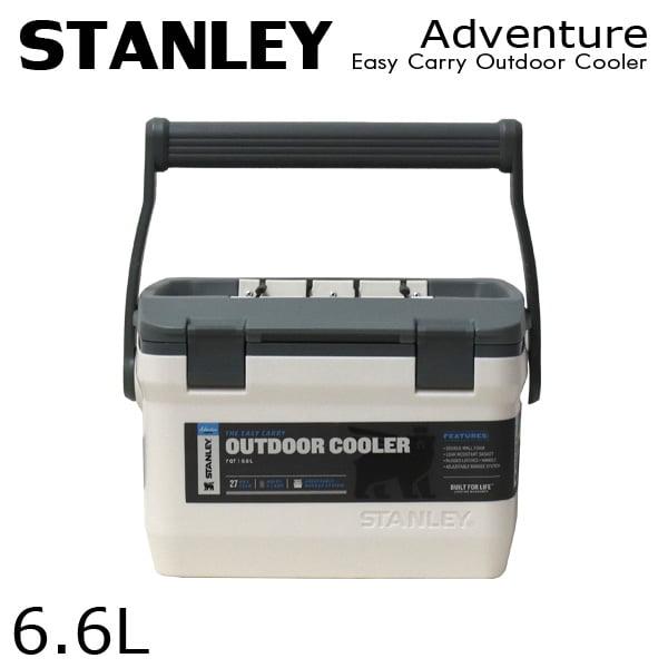 STANLEY スタンレー Adventure Easy Carry Outdoor Cooler アドベンチャー クーラーボックス ホワイト 6.6L 7QT