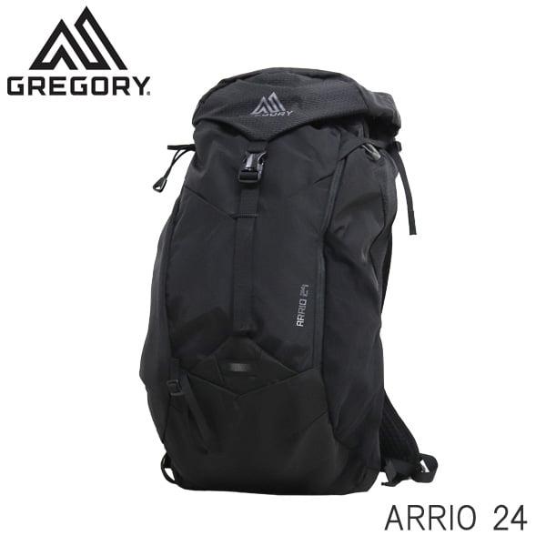 GREGORY グレゴリー バックパック ARRIO アリオ 24 24L フレームブラック 1369747409