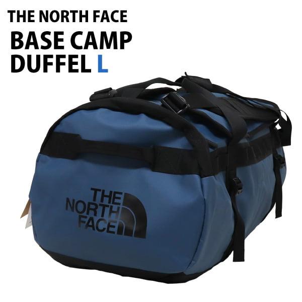 THE NORTH FACE バックパック BASE CAMP DUFFEL L ベースキャンプダッフル 95L モントレーブルー×ブラック