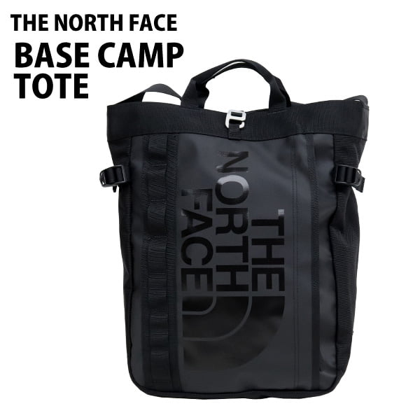THE NORTH FACE バックパック BASE CAMP TOTE ベースキャンプトート 19L ブラック
