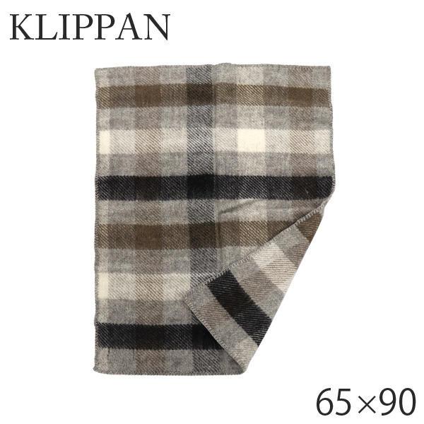 KLIPPAN クリッパン ウール ミニブランケット ゴットランド マルチグレー Gotland baby Multi grey 65×90