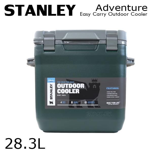 STANLEY スタンレー Adventure Easy Carry Outdoor Cooler アドベンチャー クーラーボックス グリーン 28.3L 30QT