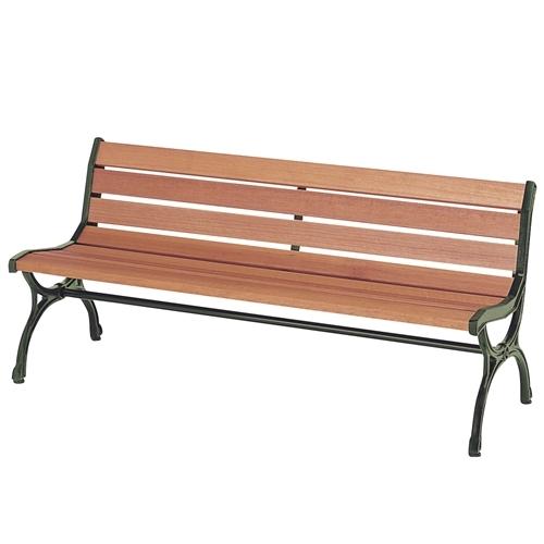 弘益 ベンチ ウッドベンチ 肘無し 天然木 天然木 ブラウン