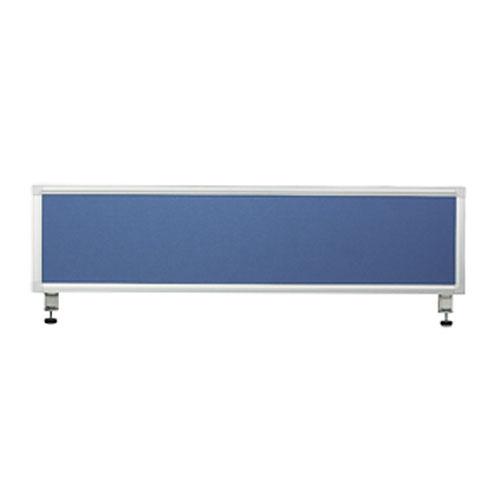 弘益 デスクトップパネル 幅120cm ブルー KLP-TP1235A(BL)