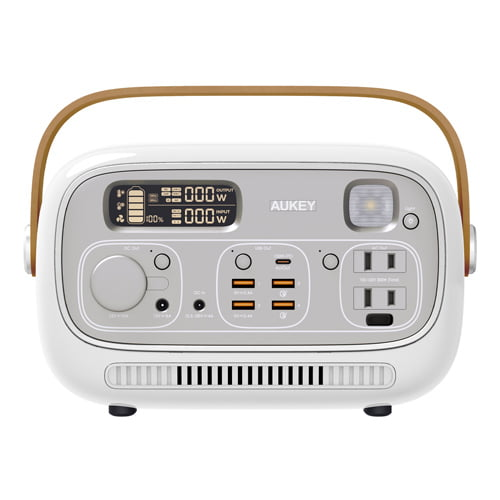 AUKEY (オーキー) ポータブル電源 Power Studio 300 297wh ホワイト PS-RE03 WT