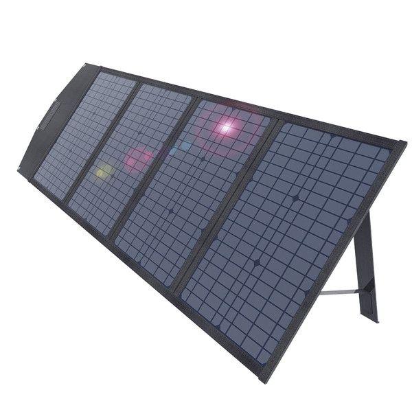 AUKEY (オーキー) 折りたたみ式 ソーラーチャージャー Power Helio Y100 100Wh SP-GP10-BK