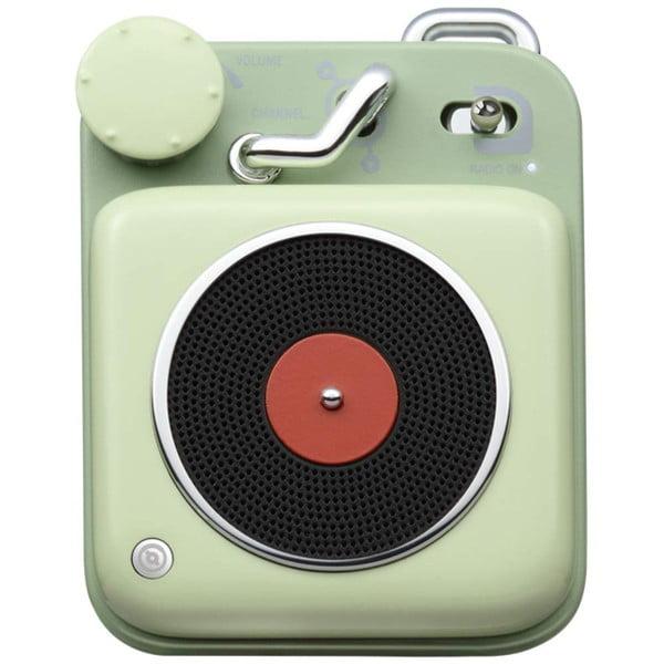 MUZEN Bluetoothスピーカー ボタン アボカドグリーン