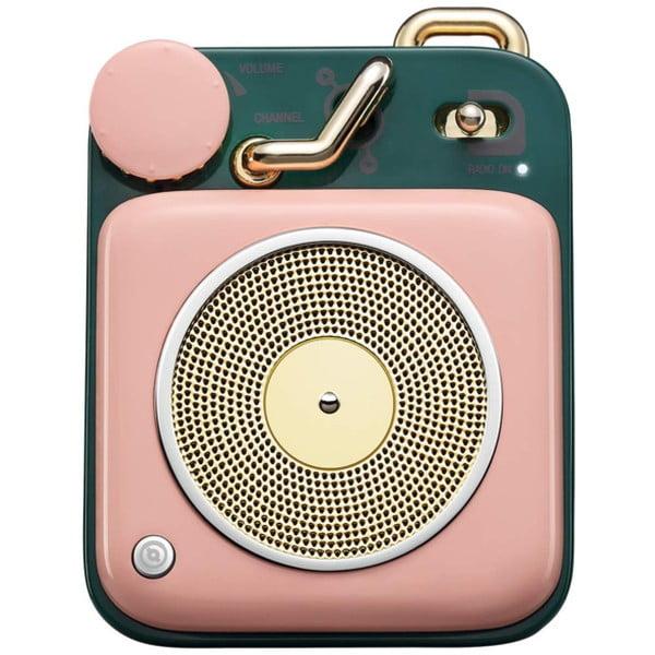 MUZEN Bluetoothスピーカー ボタン サクラピンク